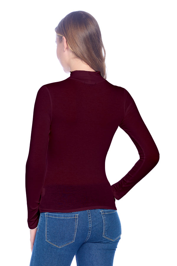 Load image into Gallery viewer, [Ambiance] Long Sleeve Top Shirts with Turtle Neck - Blueage Jeans