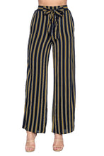 Load image into Gallery viewer, [Ambiance] Stripe Palazzo Pants - Blueage Jeans