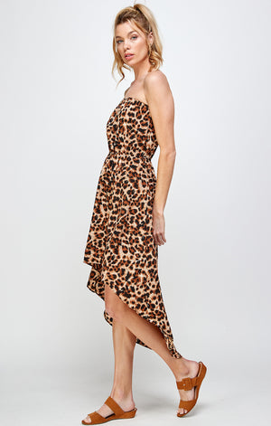 Load image into Gallery viewer, [Ambiance] Lady's Leopard Print Dress