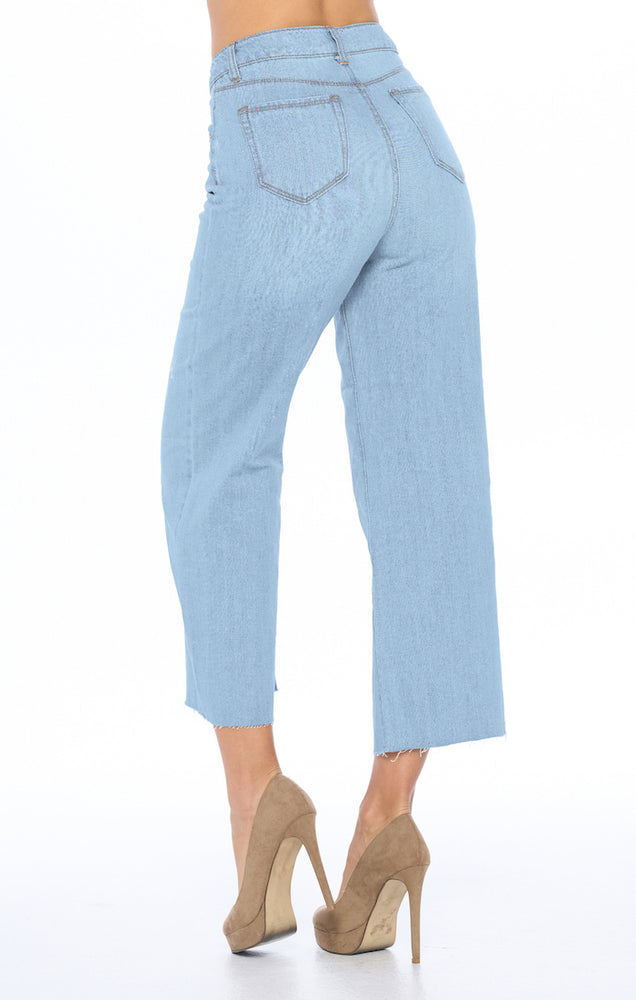 Load image into Gallery viewer, [Blue Age] High Rise Wide Leg Jeans