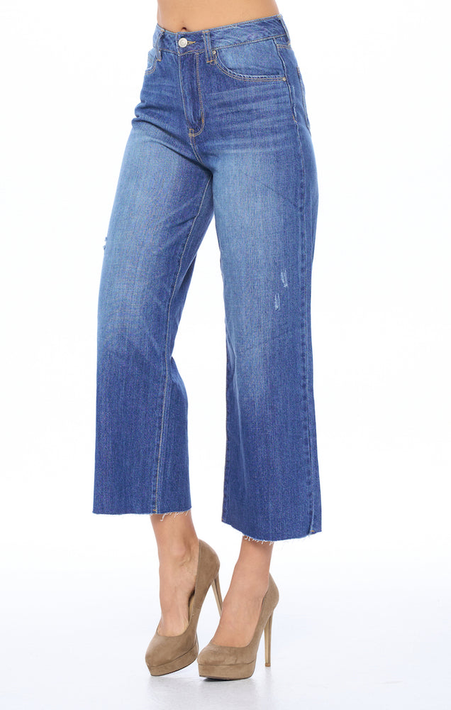 [Blue Age] High Rise Wide Leg Jeans