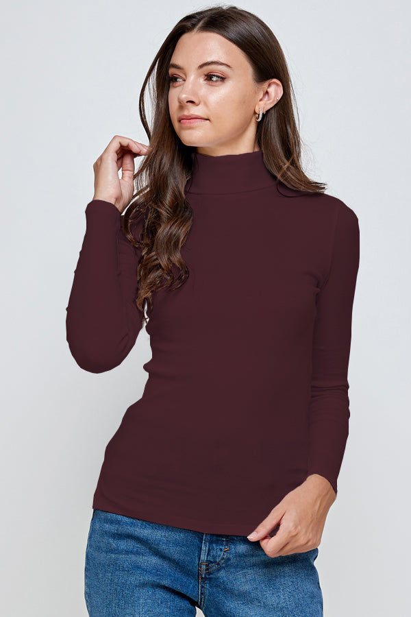 Load image into Gallery viewer, [Ambiance] Long Sleeve Top Shirts with Turtle Neck