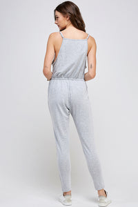 [Ambiance] Womens Sexy Knit Jumpsuit - Blueage Jeans