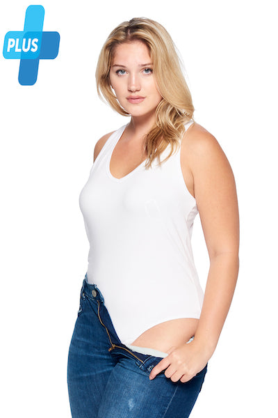 [Ambiance] Womens Tank Bodysuit in Plus Size
