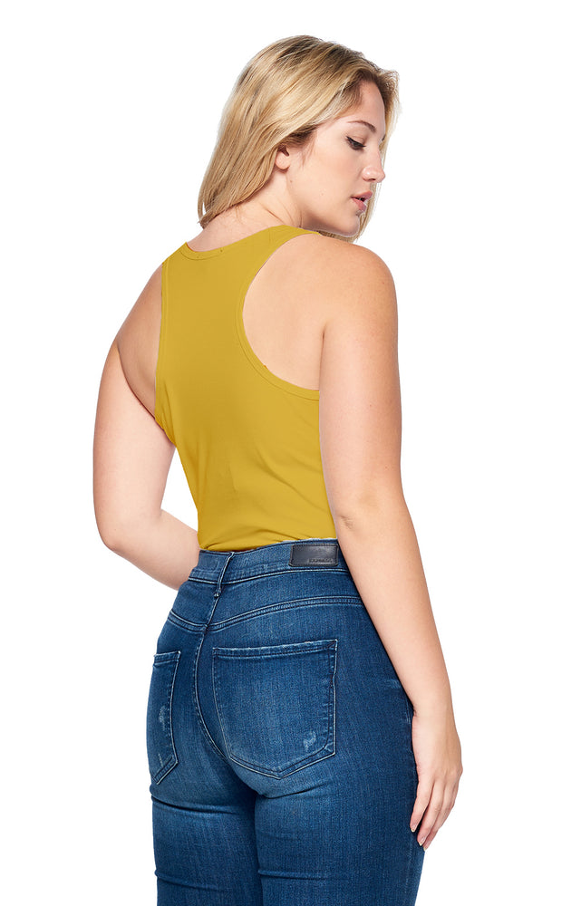 Load image into Gallery viewer, [Ambiance] Womens Tank Bodysuit in Plus Size - Blueage Jeans