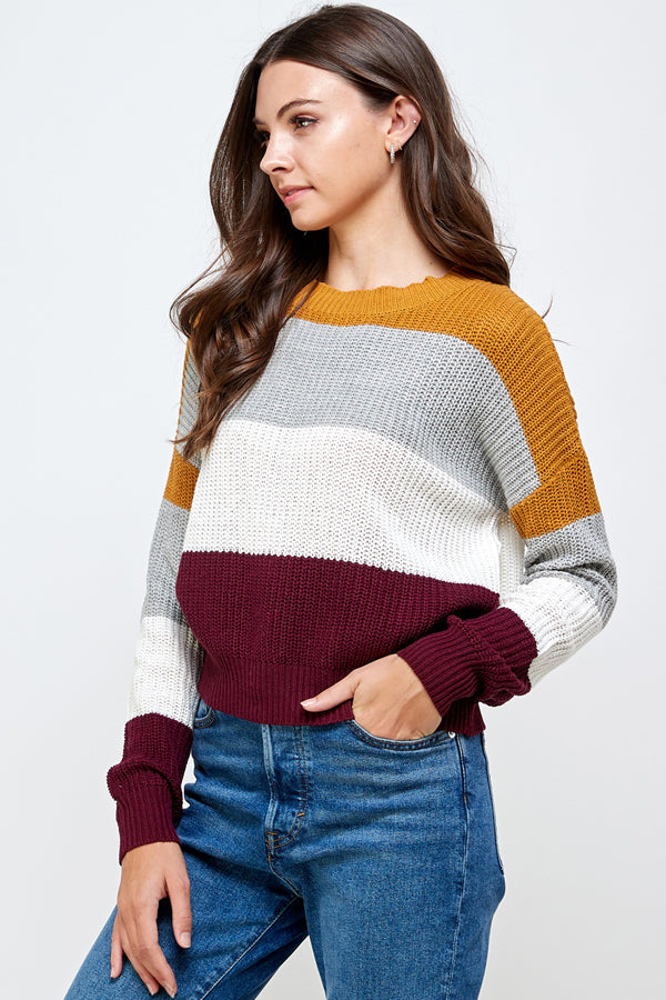 Load image into Gallery viewer, [Ambiance] Classic Cropped Sweater