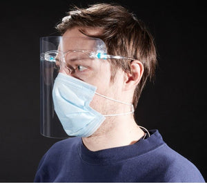 [Blue Age] Premium Face Shield with Film Cover