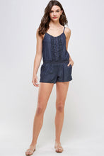 Load image into Gallery viewer, [Blue Age] Lightweight Romper Shorts - Blueage Jeans
