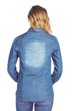 Load image into Gallery viewer, [BLUE AGE] Chambray Denim Shirt Jean Top - Blueage Jeans