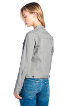 Load image into Gallery viewer, [Blue Age] Women's Colored Denim Jean Jacket - Blueage Jeans
