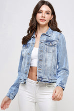 Load image into Gallery viewer, [Blue Age] Girlish Casual Denim Jacket - Blueage Jeans