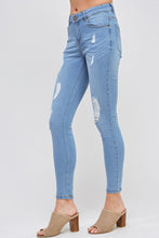 Load image into Gallery viewer, [Blue Age] Destroyed Denim Skinny Jeans - Blueage Jeans