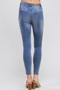 [Blue Age] Destroyed Denim Skinny Jeans - Blueage Jeans
