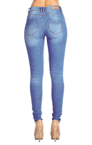 [Blue Age] Destroyed Skinny Jeans in Better Butt Designed - Blueage Jeans