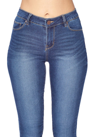 Load image into Gallery viewer, [Blue Age] Classic Solid Basic Denim Jean - Blueage Jeans