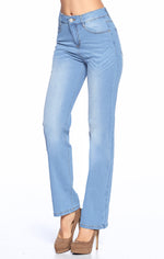 [Blue Age] Wide Leg Straight Jeans - Blueage Jeans