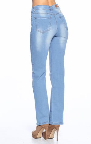 Load image into Gallery viewer, [Blue Age] Wide Leg Straight Jeans - Blueage Jeans