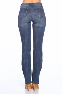 [Blue Age] Destroyed Skinny Bootcut Jeans - Blueage Jeans