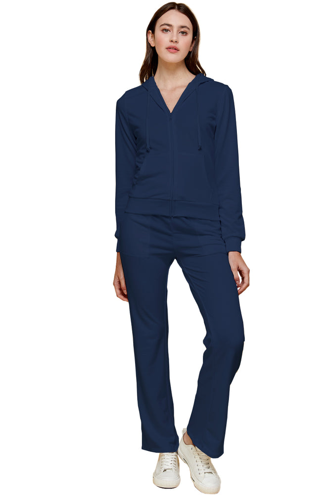 Load image into Gallery viewer, [Blue Age] Womens French Terry Jogger Set