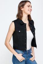 Load image into Gallery viewer, [Blue Age] Women's Colored Denim Vest Jean Top - Blueage Jeans