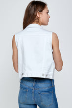Load image into Gallery viewer, [Blue Age]Women's Colored Denim Vest Jean Top - Blueage Jeans