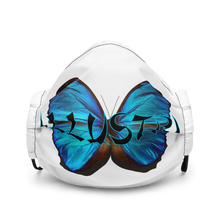 Load image into Gallery viewer, Illustri Butterfly Premium face mask