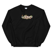 Load image into Gallery viewer, Illustri Forever Crew Neck Sweatshirt (Black)