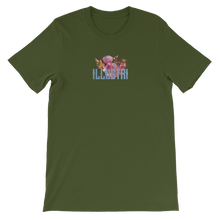 Load image into Gallery viewer, Illustri Refinement Short-Sleeve Unisex T-Shirt (olive)