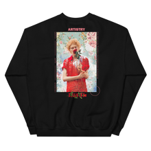 Load image into Gallery viewer, illustri Artistry Rose Crew Neck Sweatshirt