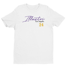 Load image into Gallery viewer, Illustri Mamba Memorial (White) Short Sleeve T-shirt