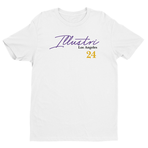 Illustri Mamba Memorial (White) Short Sleeve T-shirt