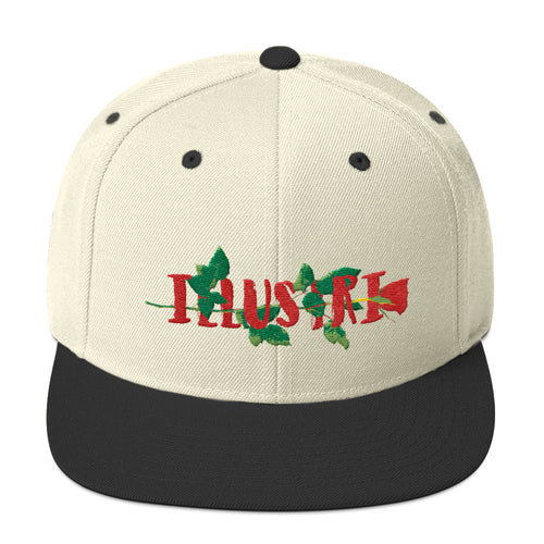 illustri Artistry Rose Snapback Hat
