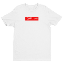 Load image into Gallery viewer, Illustri Script Box Logo Short Sleeve T-shirt