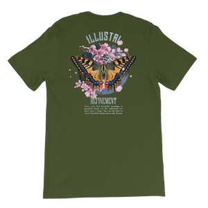 Illustri Refinement Short-Sleeve Unisex T-Shirt (olive)