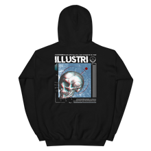 Load image into Gallery viewer, Illustri Cyber Skull Hoodie (Black)