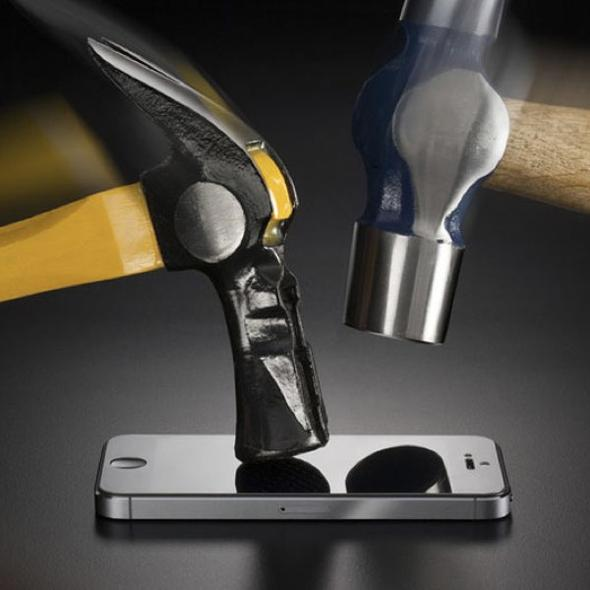 Screen Protector for iPhone - Hammer Tested Impact Protection
