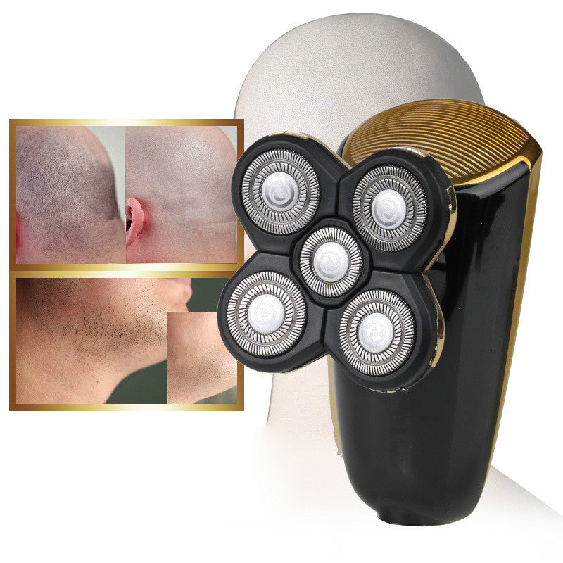 Electric Shaver Washable 3D Floating Shaving Machine Men Head