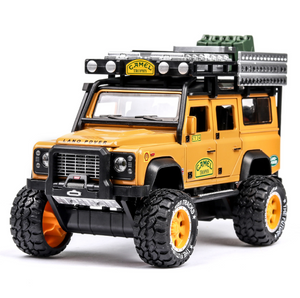 Land Rover Defender modified desert travel buggy alloy toy car model