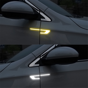 Car Door reflective safety warning bumper strip