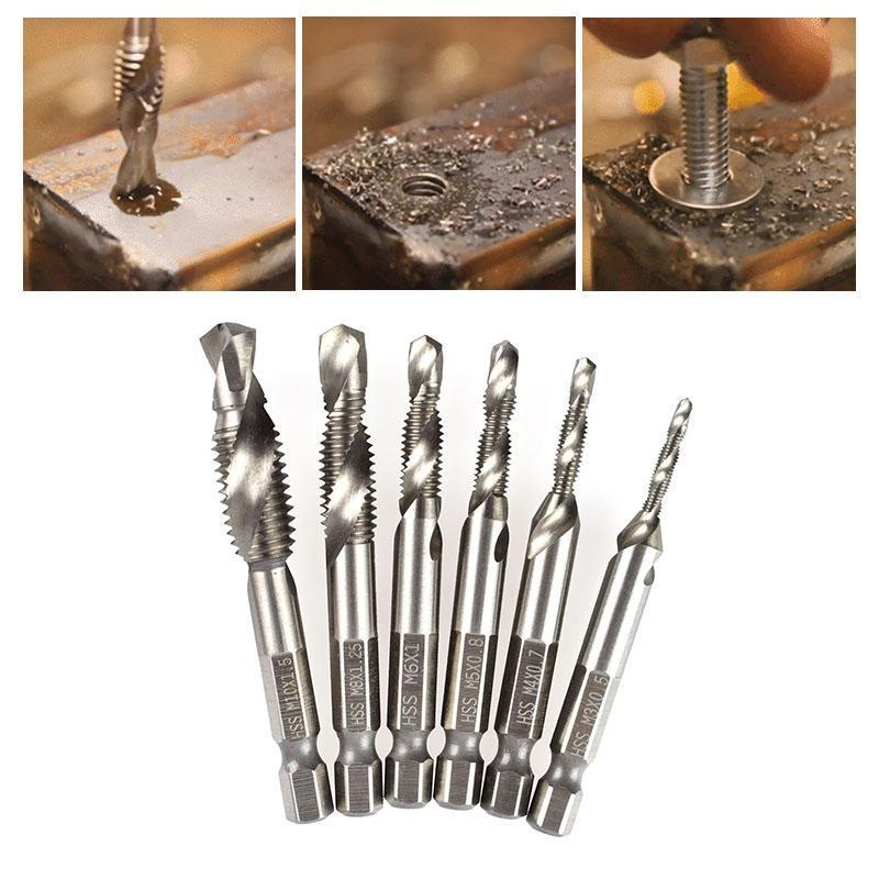 Composite Tap Drill Bit Set - Buy 2 Get 80% OFF!