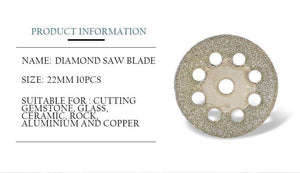 Premium Diamond Rotary Saw Blades Set