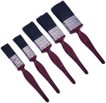 "Amtech Decorating Paint Brush Set, No Bristle Loss, 2 x 1"", 2 x 1.5"", 1 x 2"""