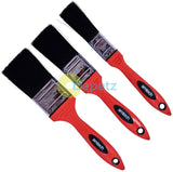 Amtech G4385 No Bristle Loss Soft Handle Paint Brush Set, Set of 3 Pieces