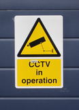 Security Camera - Warning Sign - 300 x 200mm