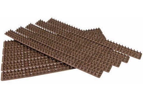 100 x FENCE & WALL SPIKES 45 mt CAT REPELLENT INTRUDER DETERRENT - ANTI CLIMB