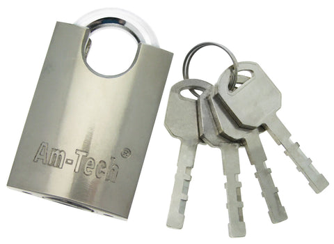 Padlock 40mm - Top Security - Heavy Duty Steel Body & Hardened Steel Shackle