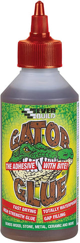 Everbuild Gator Glue High Strength Fast Drying Waterproof for Wood Stone Metal