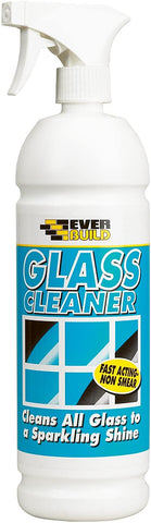 Everbuild Glass Cleaner Ready To Use Spray, 1 Litre