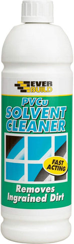 Everbuild PVCu Solvent Based Cleaner, 1 Litre