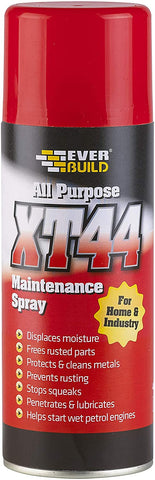 Everbuild XT44 All Purpose Maintenance Spray, Cleaner and Lubricant, 400 ml